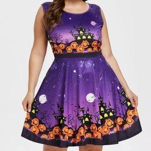 Halloween Festival A Line Empire dress